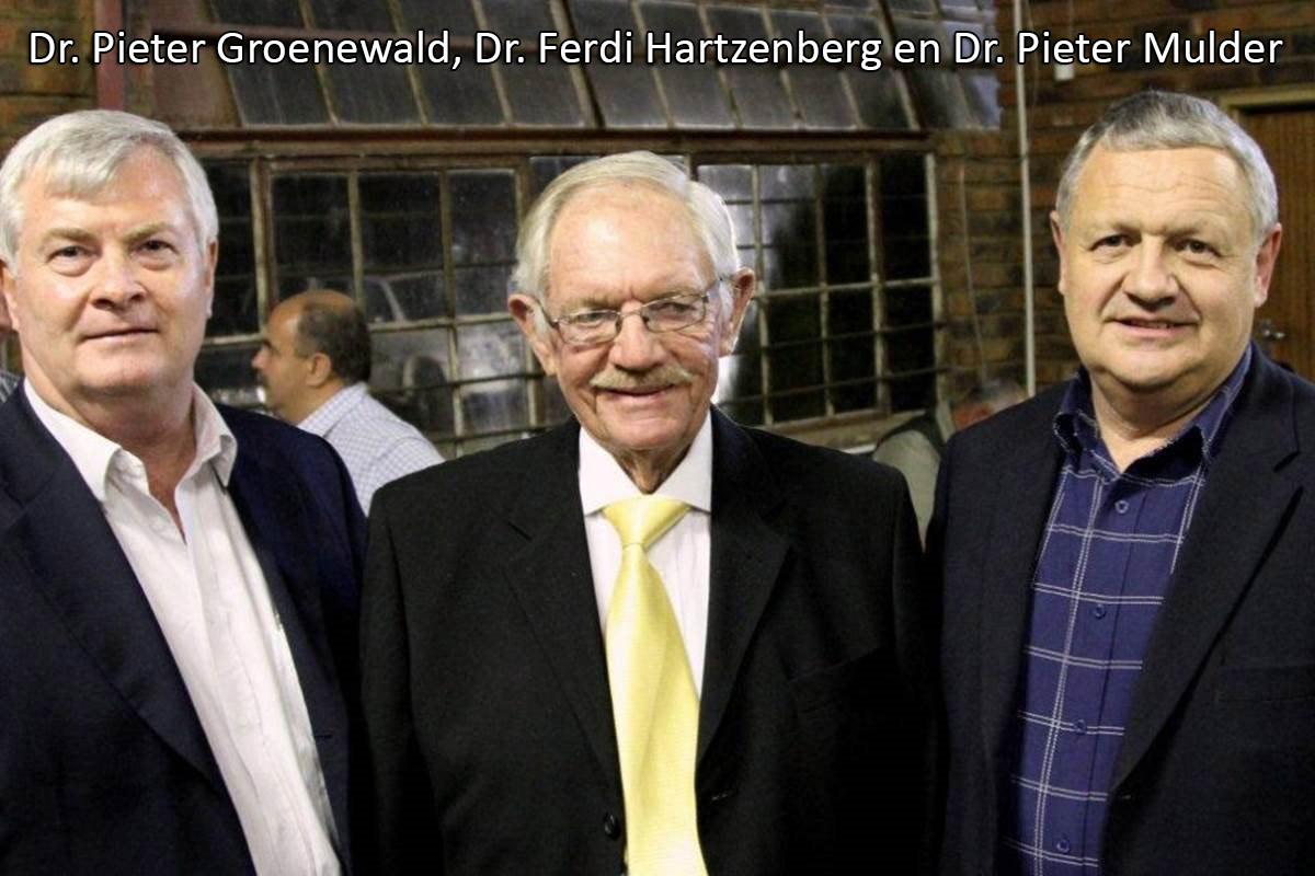 Huldeblyk aan dr. Ferdi Hartzenberg (8 Januarie 1936 tot 12 Maart 2021 – 85 jaar)
